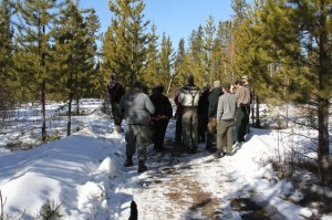 Karamat Wilderness Ways 2016 Winter Course
